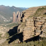 Vista del mirador del Tornillo, en el sendero de Os Fils