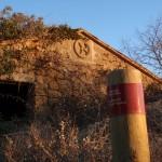 Estaca del Camino Natural de la Hoya de Huesca