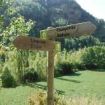 Flecha direccional Ribagorza