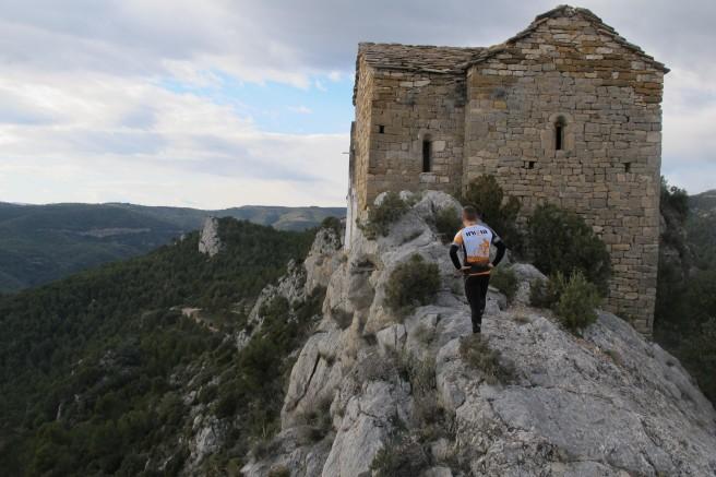 Ermita de San Bonifacio y Santa Quiteria en Montfalcó, Montsec de L´Estall (Huesca