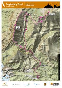 Ficha rutas trail running mapa
